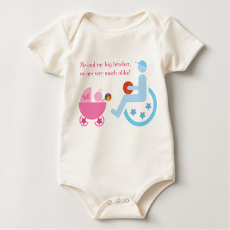 Disability awareness for kids bodysuits