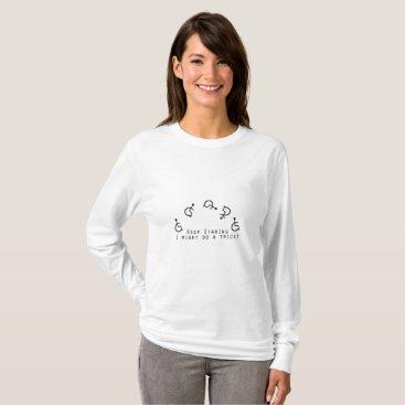 de_look Disability Awareness Gift Wheelchair Funny T-Shirt