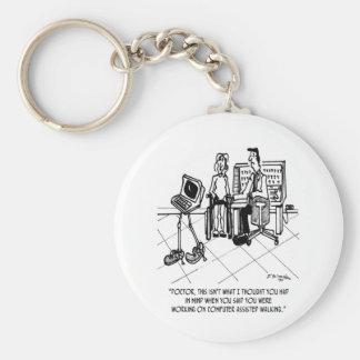 Disability Cartoon 1795 Keychain