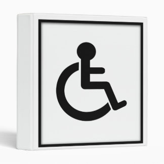 Disability Disabled  Symbol Binders