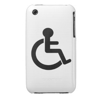 Disability Disabled  Symbol iPhone 3 Case