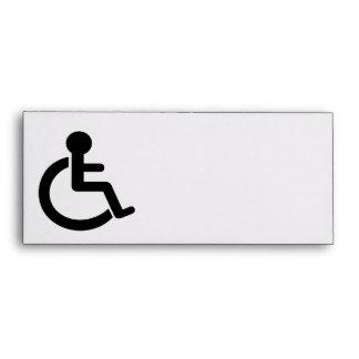 Disability Disabled  Symbol Envelope