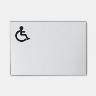 Disability Disabled  Symbol Post-it Notes