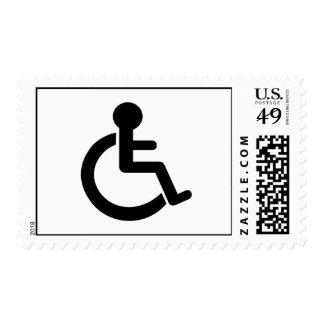 Disability Disabled  Symbol Postage Stamp