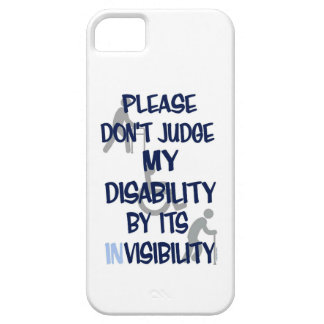 Disability/INvisibility iPhone SE/5/5s Case