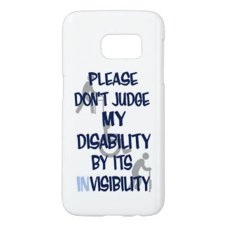 Disability/INvisibility...RSD/CRPS Samsung Galaxy S7 Case