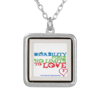 Disability Poses Love Necklace