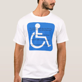 Disability Protection T-Shirt
