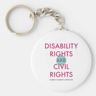 Disability Rights Keychain