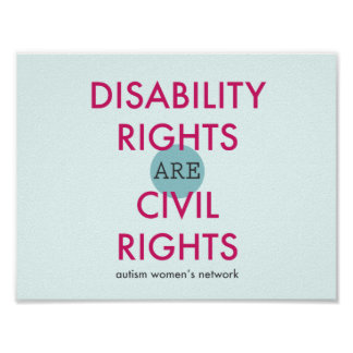 Disability Rights Poster