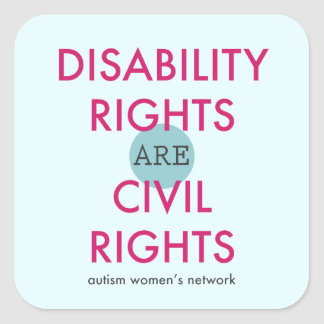Disability Rights Sticker