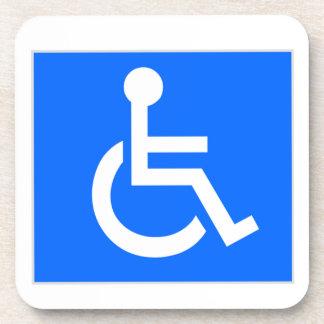 Disability Symbol Beverage Coaster