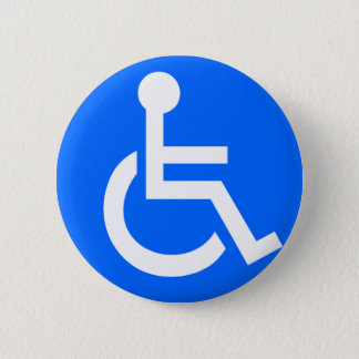 Disability Symbol Pinback Button