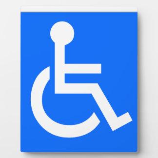 Disability Symbol Plaque