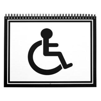 Disability Symbol Calendar