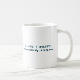 Disability Thinking Mug