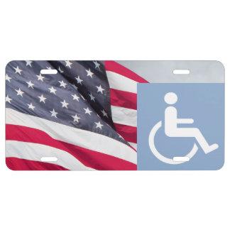 Disabled American Vet License Plate