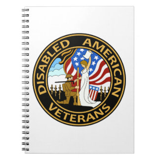 DISABLED AMERICAN VETERA SPIRAL NOTEBOOK
