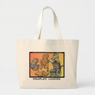 Disabled Cookies Funny Gifts & Collectibles Tote Bag