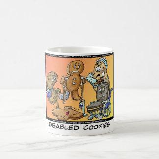 Disabled Cookies Funny Internet Gifts Tees Mugs Coffee Mug