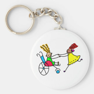 Disabled Friends Keychain