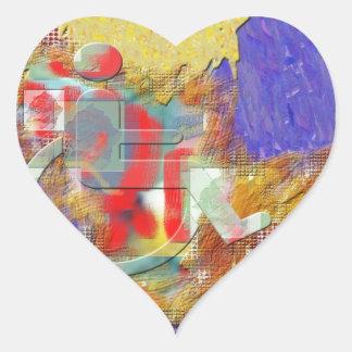 Disabled Heart Sticker