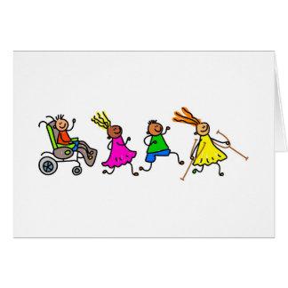 Disabled Kids Card