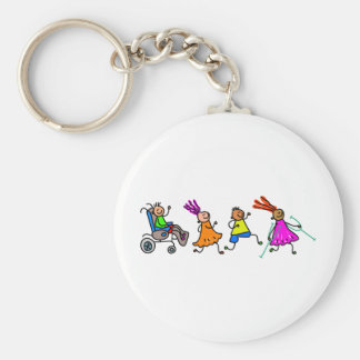 Disabled Kids Keychain
