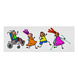 Disabled Kids Poster