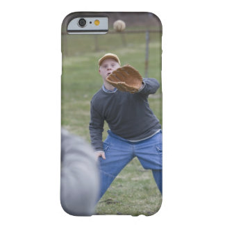 Disabled man playing baseball with his son barely there iPhone 6 case