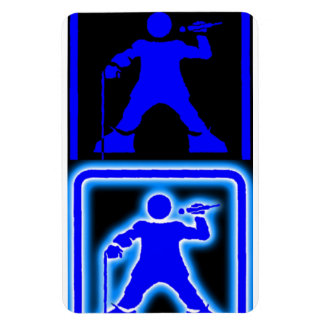 DisAbled MC - Blue Mag Magnet