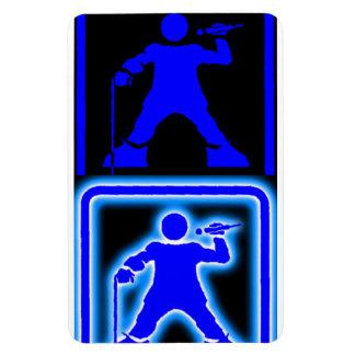 DisAbled MC - Blue Mag Rectangular Photo Magnet
