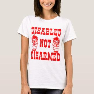 Disabled Not Disarmed 2nd Amendment Guns T-Shirt