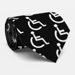 Disabled Persons Graphic Tie