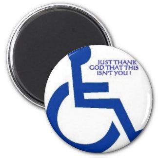disabled sign magnet