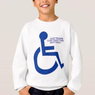 disabled sign sweatshirt