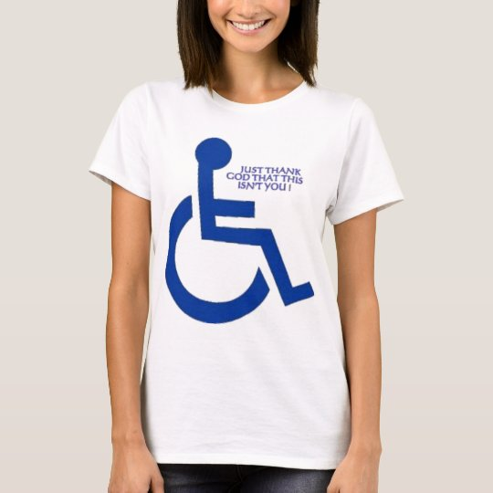 disabled sign T-Shirt