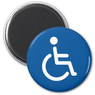 Disabled symbol magnets