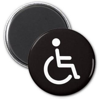 Disabled symbol magnet