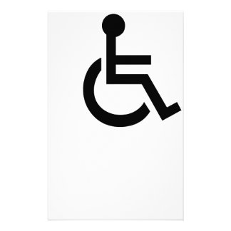 Disabled Symbol Stationery
