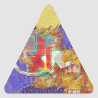 Disabled Triangle Sticker