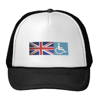 Disabled UK Veteran. Trucker Hat