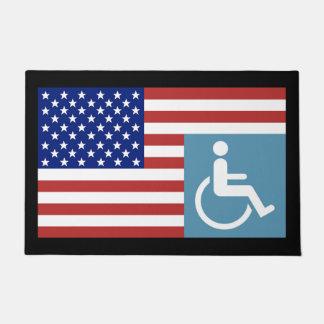 Disabled US Veteran Doormat