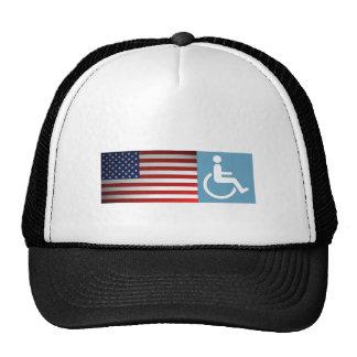 Disabled US Veteran. Trucker Hat