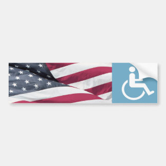 Disabled Veteran. Bumper Sticker