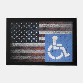 Disabled Veteran Doormat