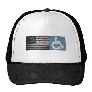 Disabled War Veteran. Trucker Hat