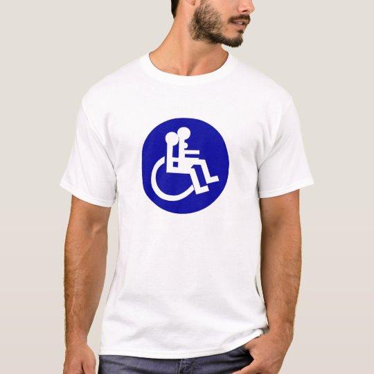 DISABLES WHEELCHAIR LOVE T-Shirt