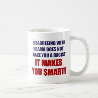 Disagreeing with Obama Coffee Mug