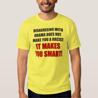 Disagreeing with Obama T-Shirt